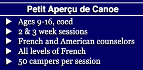 23872be71a2 Campers at our unique sleepaway camp on 47-acre Canoe Island in the Pacific  Northwest learn French and about French culture and participate in  traditional ...