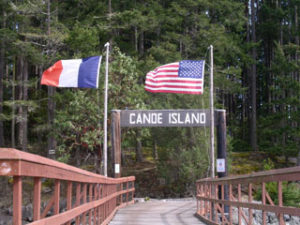 Canoe Island French Camp   Summer French Camp, San Juan Islands